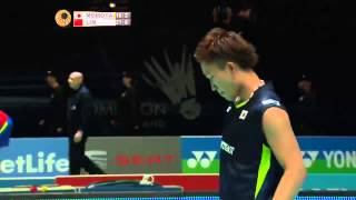 Kento Momota vs Lin Dan | MS QF Match 2 - Yonex All England Open 2015 thumbnail