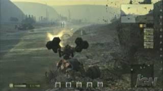 Chromehounds Xbox 360 Gameplay - Desert Action Gameplay