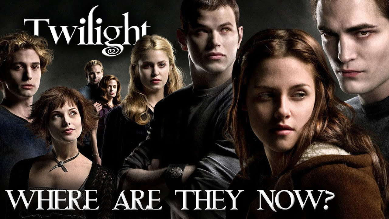 twilight cast where are they now youtube