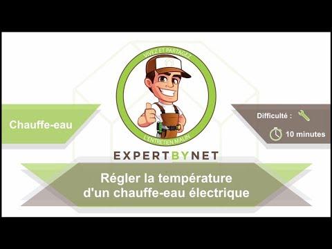 Regler La Temperature D Un Chauffe Eau Electrique Youtube