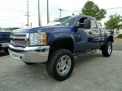 2013 chevy silverado 1500 lt ext cab lifted truck youtube. Black Bedroom Furniture Sets. Home Design Ideas
