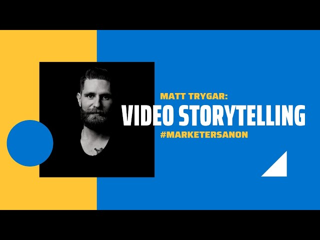 VISUAL STORYTELLING FOR ADVERTISING - Matt Trygar