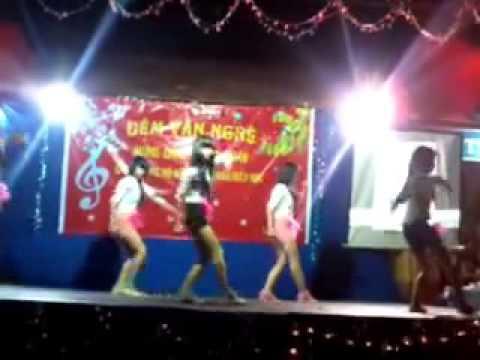 trường thcs lộc tấn nhảy cry cry và gangnam style   YouTube