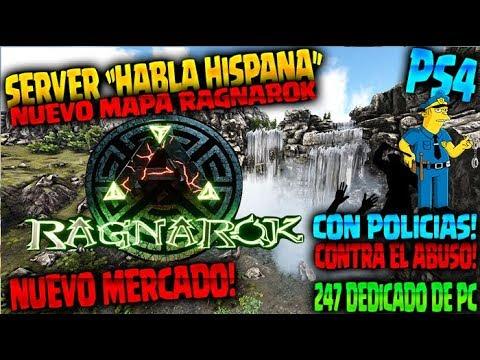 ARK - SERVER ESPAÑOL RAGNAROK X20 - MERCADO Y EVENTOS - SERVIDOR DEDICADO DE PC