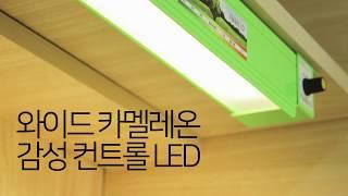 [아이디어스터디] 와이드 카멜레온 감성컨트롤 LED 사…