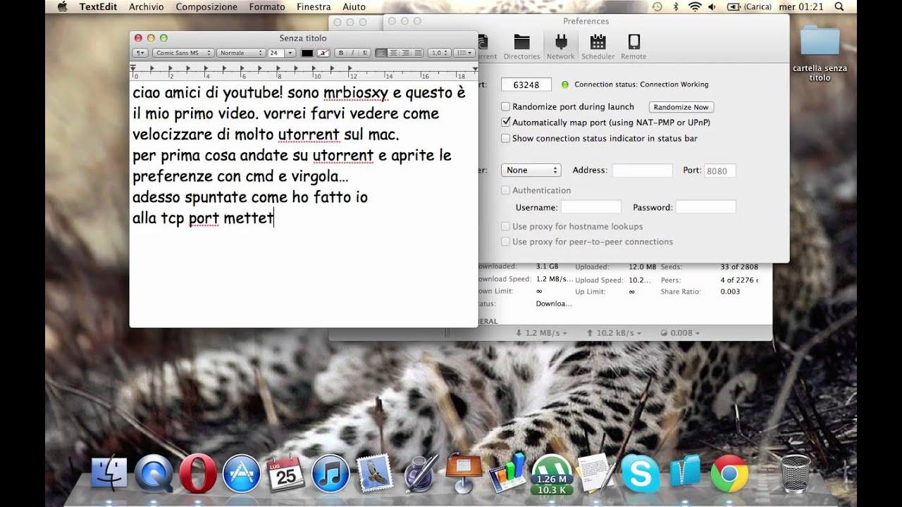 Velocizzare Bittorrent Su Mac Free Download