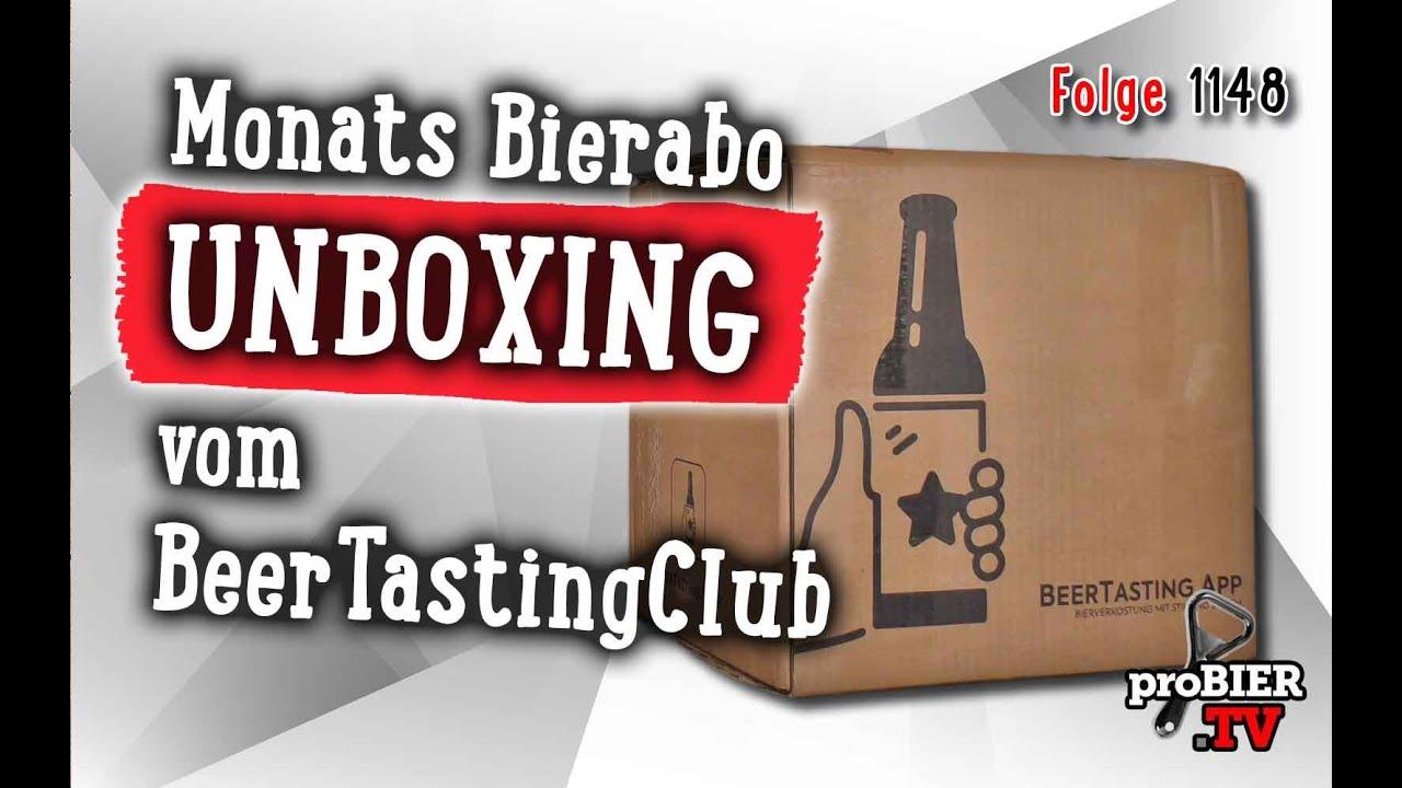 UNBOXING| Beertasting Club Bierabo | proBIER.TV – Craft Beer Review #1048 [4K]