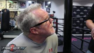 Freddie Roach talks how Pacquiao knocked out Linares & being Impressed by Mikey Garcia