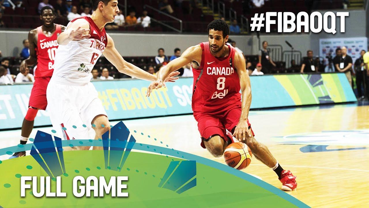 Turkey v Canada - Full Game