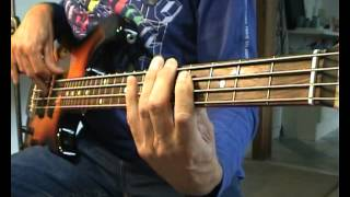 Hank the Knife & The Jets - Stan The Gunman - Bass Cover