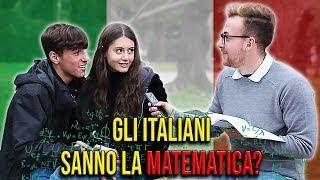 Gli ITALIANI sanno la MATEMATICA? - Esperimento Sociale