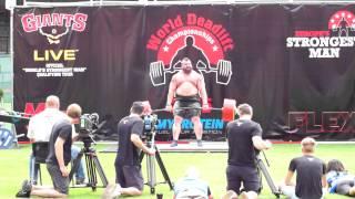 eddie hall 463 kg 1020 pounds new world record deadlift hd