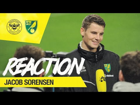 Brentford 1-1 Norwich City | Jacob Sorensen Reaction