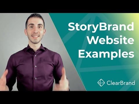 7 StoryBrand Website Examples (from A StoryBrand Guide)