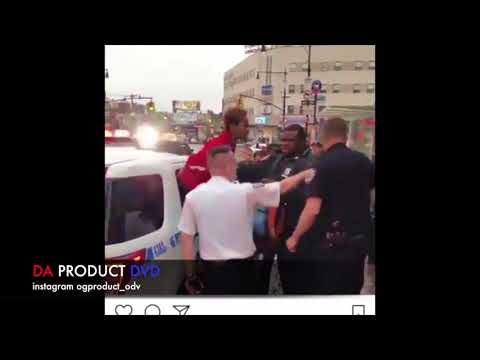Jay Dee OMB(Brownsville Rapper) Arrested By Police In Bronx Live Footage....DA PRODUCT DVD