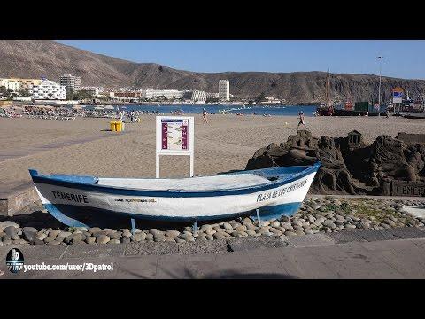 (4k) Los Cristianos, Tenerife, Canary Islands, Spain