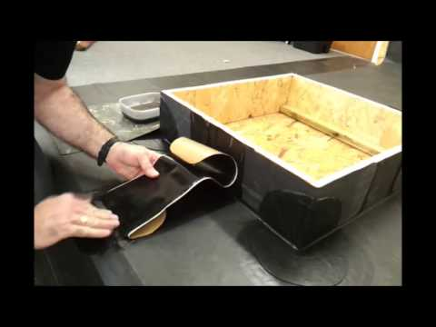 How To Join Epdm Membrane With Cover Strip Tape Rubber