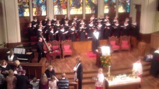 Behold the Lamb  Kristin Getty  Polk Street UMC Sanctuary Choir