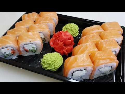 Как приготовить ролл Филадельфия | Мастер класс приготовления суши | рецепт | кулинария | готовим