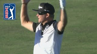 Brian Gay's walk-off eagle on the 72nd hole at The RSM Classic