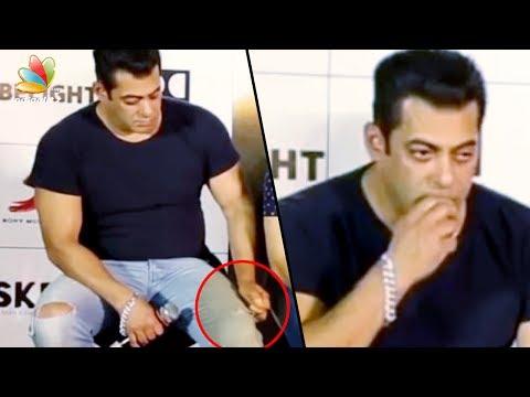 ജീൻസ് തിന്നുന്ന സൽമാൻ  | Salman Khan tears and eats his own jeans | Latest Malayalam Cinema News