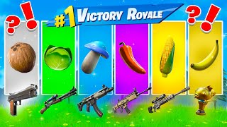 The New *RANDOM* Food CHALLENGE in FORTNITE Battle Royale!