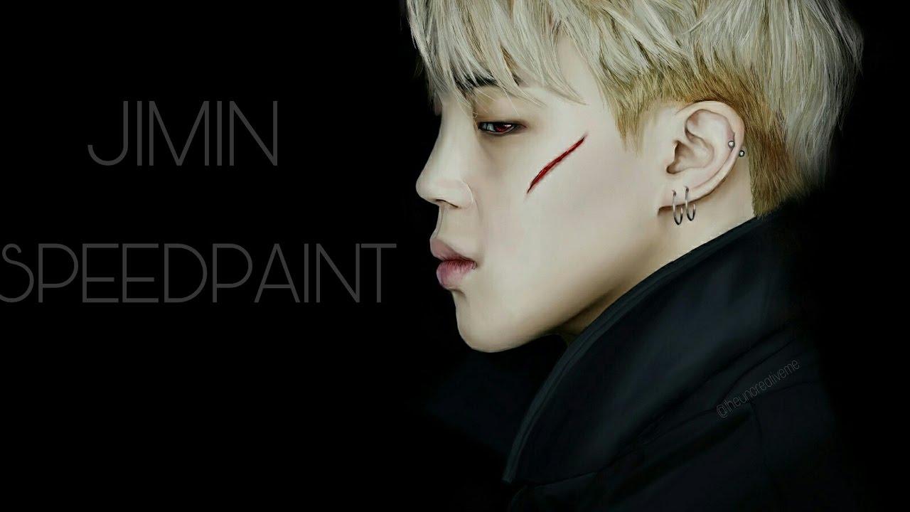 Bts 방탄소년단 Jimin Speedpaint Dark Version Youtube