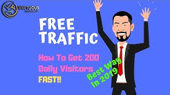 How To Drive FREE Targeted Niche Traffic To Your Website 2019