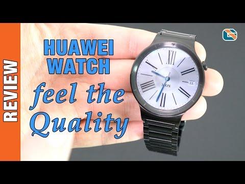 Huawei Watch Smartwatch Review on Apple iPhone #HuaweiWatch