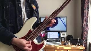 シンデレラソング / ストレイテナー  【bass cover】