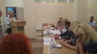 """""""Обіцяйте допомагати своїй директорці"""", - В. Криленко у школі №29 (відео """"Корабелів.Інфо"""")"""