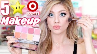 TESTING 5 STAR RATED MAKEUP FROM TARGET! DOPE OR NOPE?!