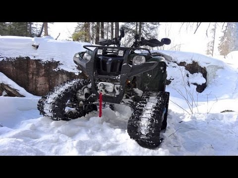 Yamaha Atv Grizzly 700 On Tracks Dashing Through The Snow HD Wallpapers Download free images and photos [musssic.tk]