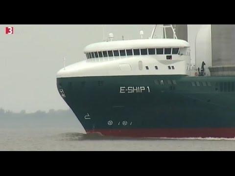E Ship 1 Auf 3sat Säulen Als Segel Youtube