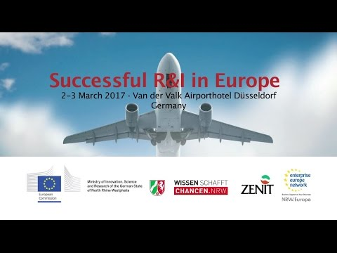 Successful R&I in Europe 2017 - 8th European Networking Event - Invitation