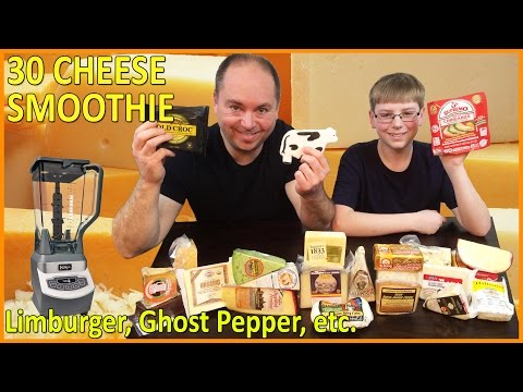 30 Cheese Smoothie : Limburger, Ghost Pepper, Chocolate, Blue : Crude Brothers