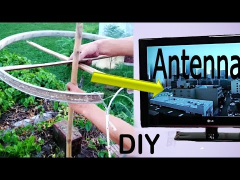 how to build a tv antenna for free and tips for getting the best TV antenna