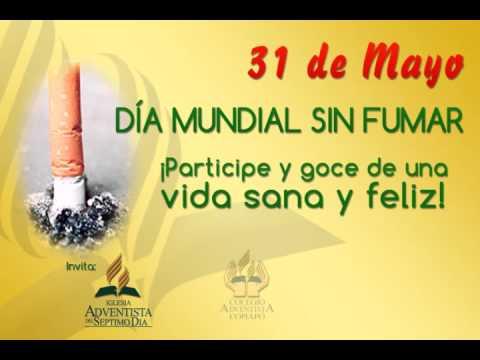 D a mundial sin fumar youtube for Cuarto dia sin fumar