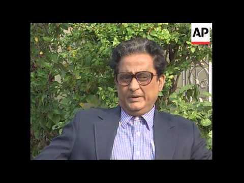 INDIA: CALCUTTA: APRIL ELECTION CAMPAIGNS BEGIN IN EARNEST