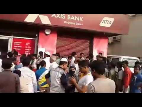 Delhi Banks After Modi Announcment