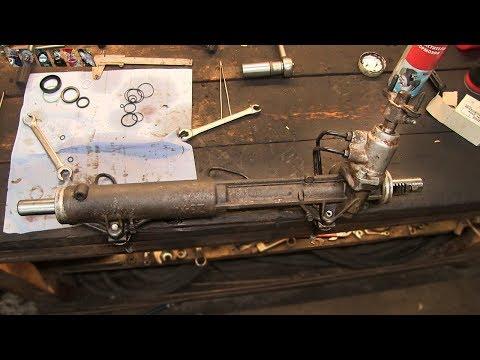 Как самому отремонтировать рулевую рейку