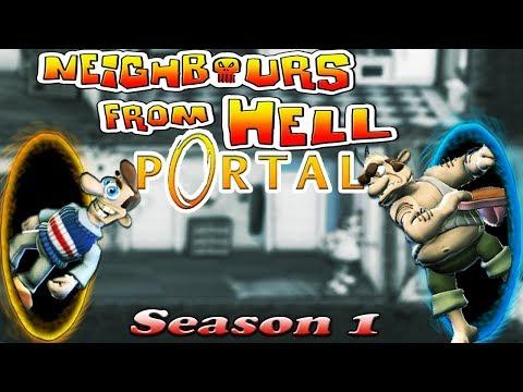 Neighbours From Hell PORTAL - Season 1 [100% walkthrough] thumbnail