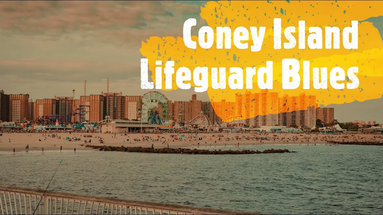 Live Poetry Coney Island Lifeguard Blues