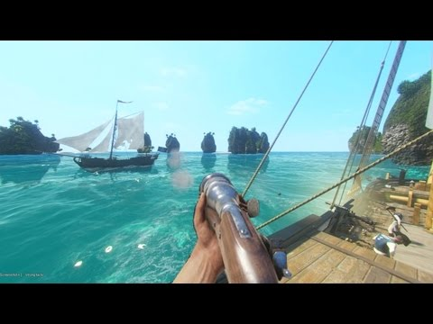 PIRATE SHIP BATTLES! - BLACKWAKE GAMEPLAY