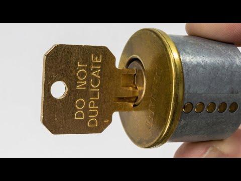 """How To Duplicate A """"Do Not Duplicate"""" Key"""