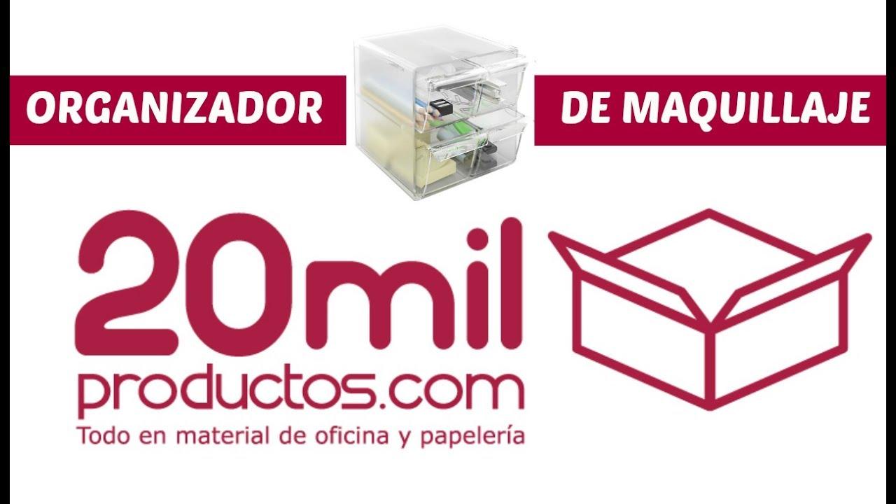 20mil productos organizador de maquillaje material de for Articulos de oficina y papeleria