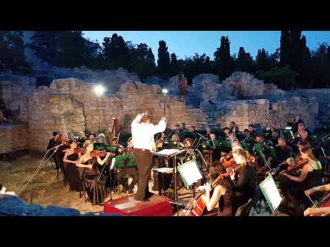 Концерт оркестра Крымской филармонии в Херсонесском музее