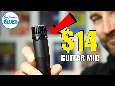 The $14 Pyle PDMIC78 Microphone Review - Music Gear on a Budget #1