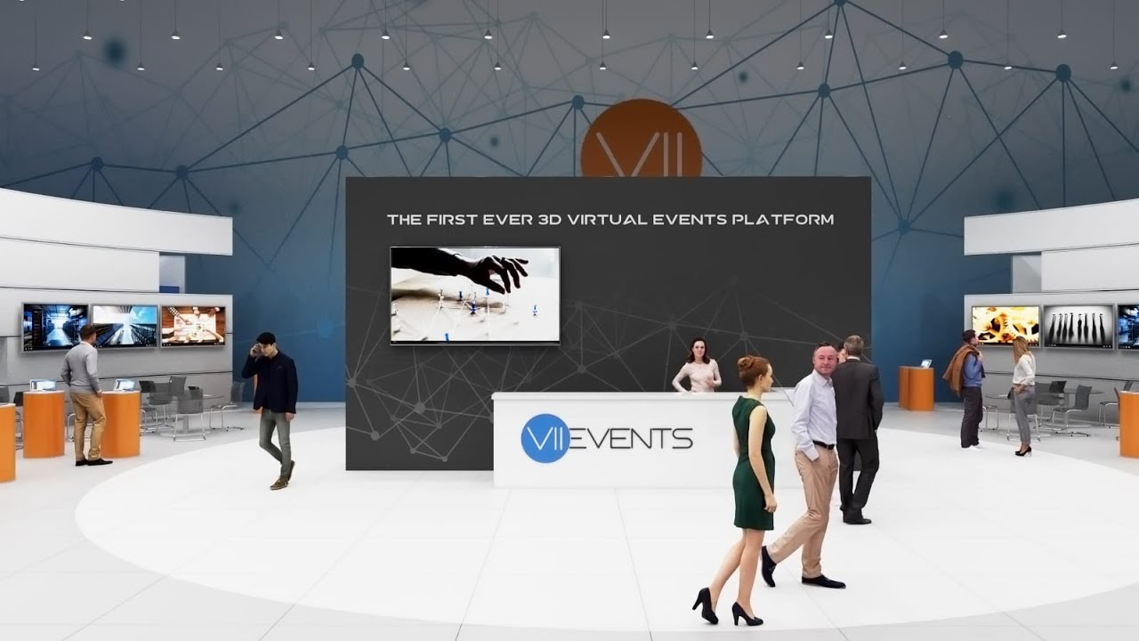 Vii Events The First Ever 3d Virtual Events Platform Youtube