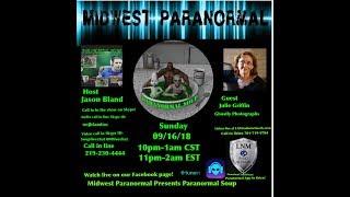 Paranormal Soup ep 153 guest Julie Griffin